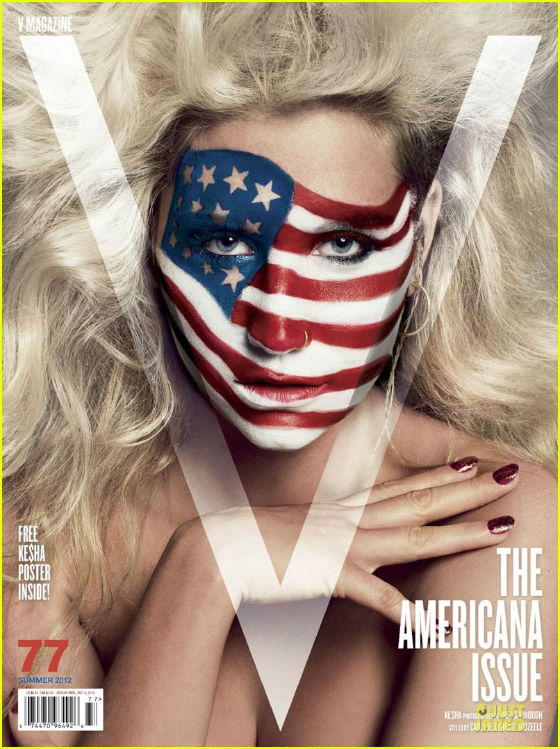 kesha covers v magazine americana issue 01