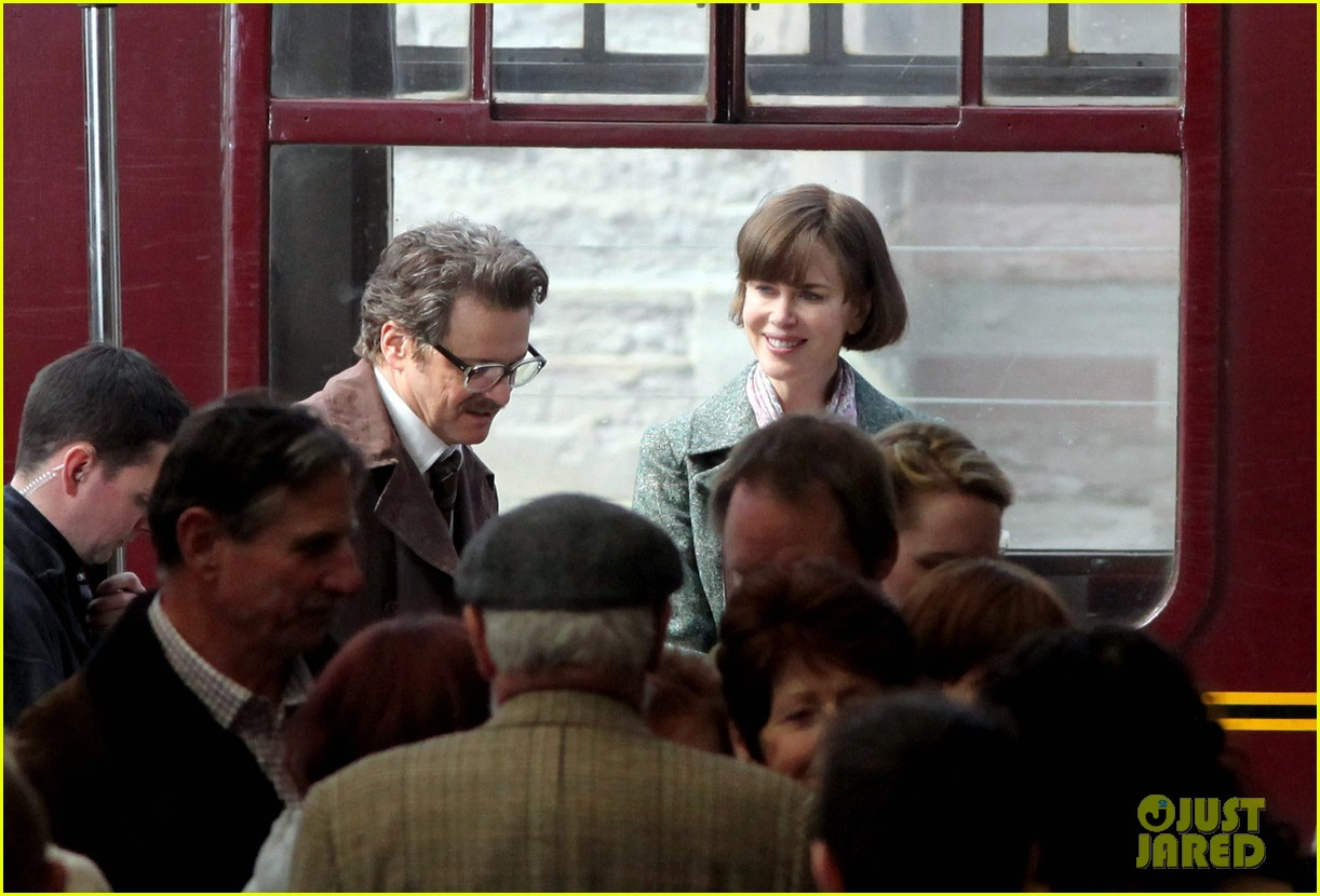 nicole kidman colin firth railway man set 04