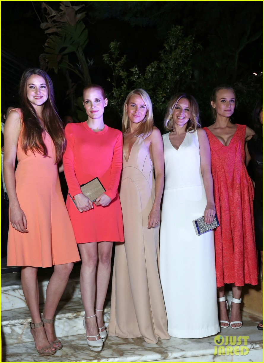 jessica chastain diane kruger women in film cannes party 062663680