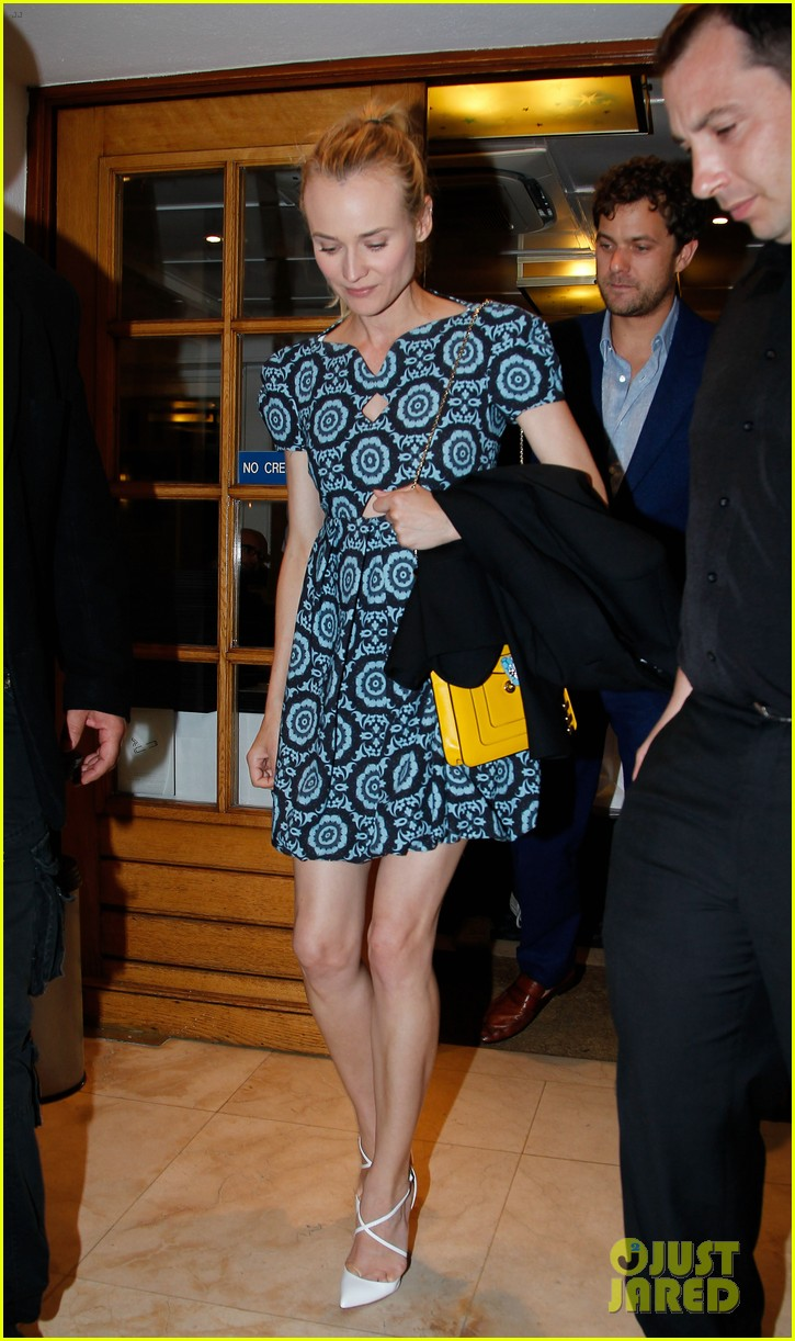 diane kruger joshua jackson seafood supper in cannes 022665599