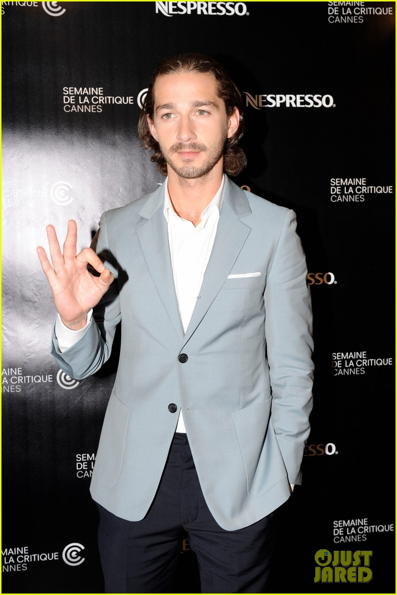 shia labeouf howard cantour premiere cannes 01