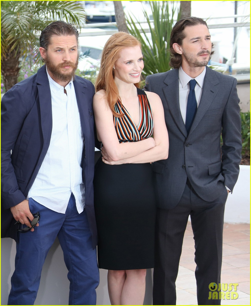 labeouf lawless photocall 012664118