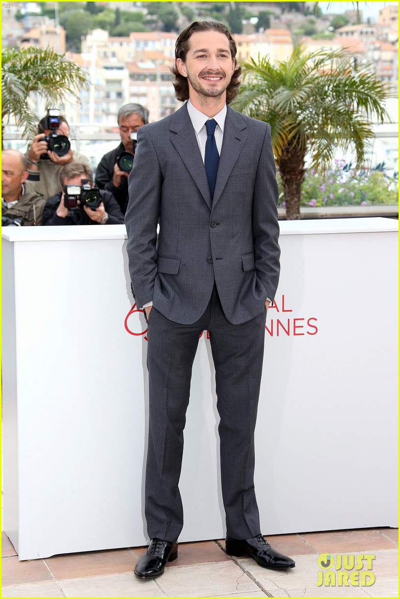 labeouf lawless photocall 02