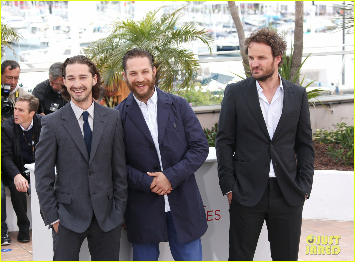 labeouf lawless photocall 07