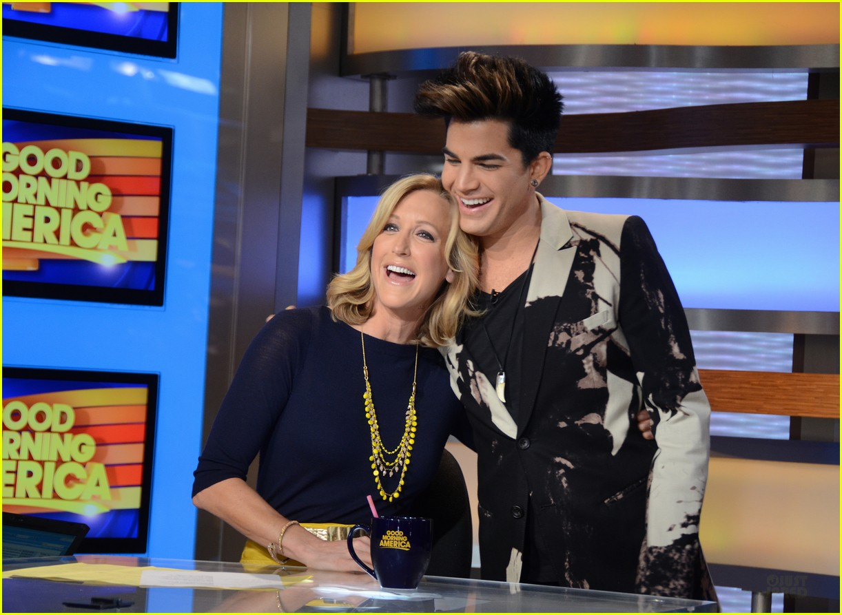 adam lambert good morning america 032661848