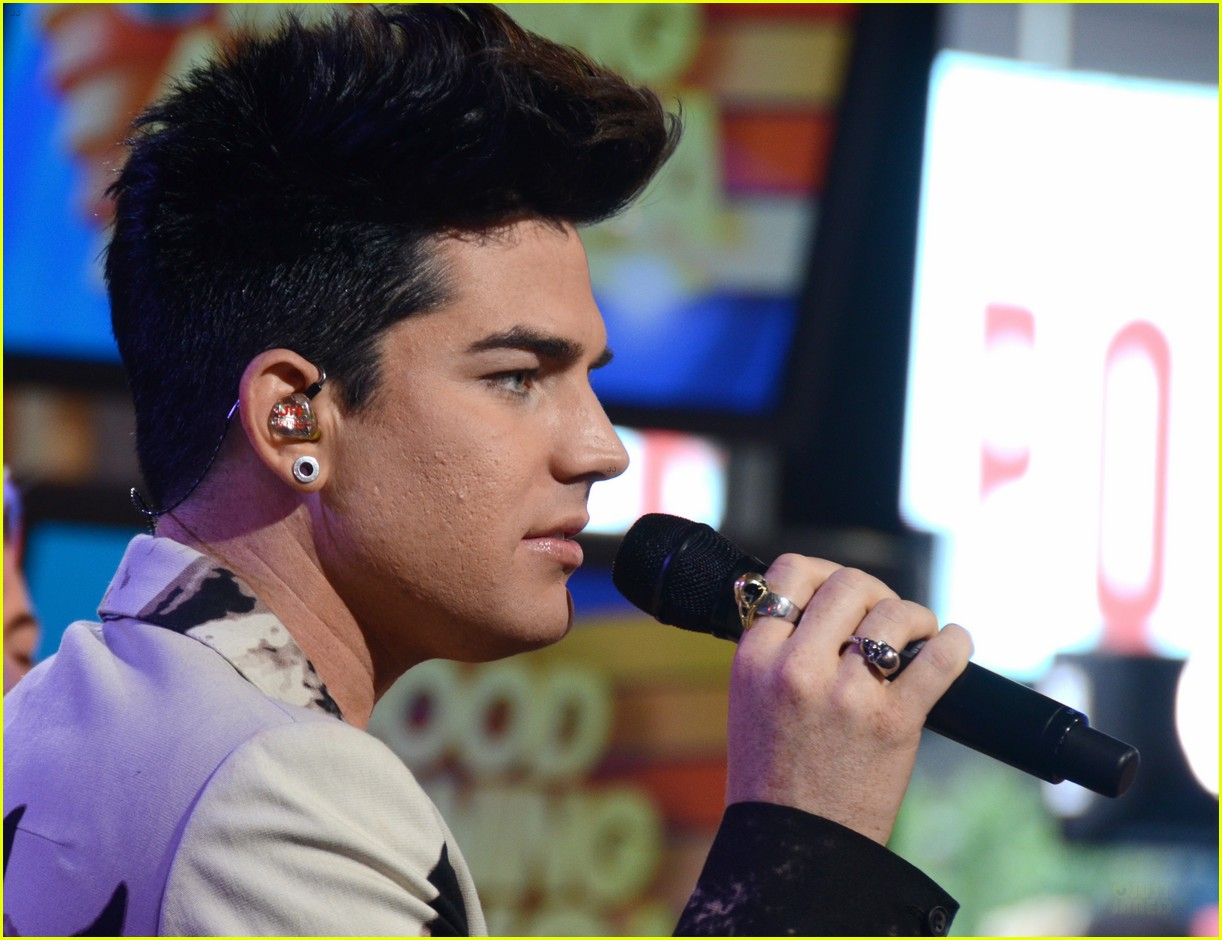 adam lambert good morning america 062661851