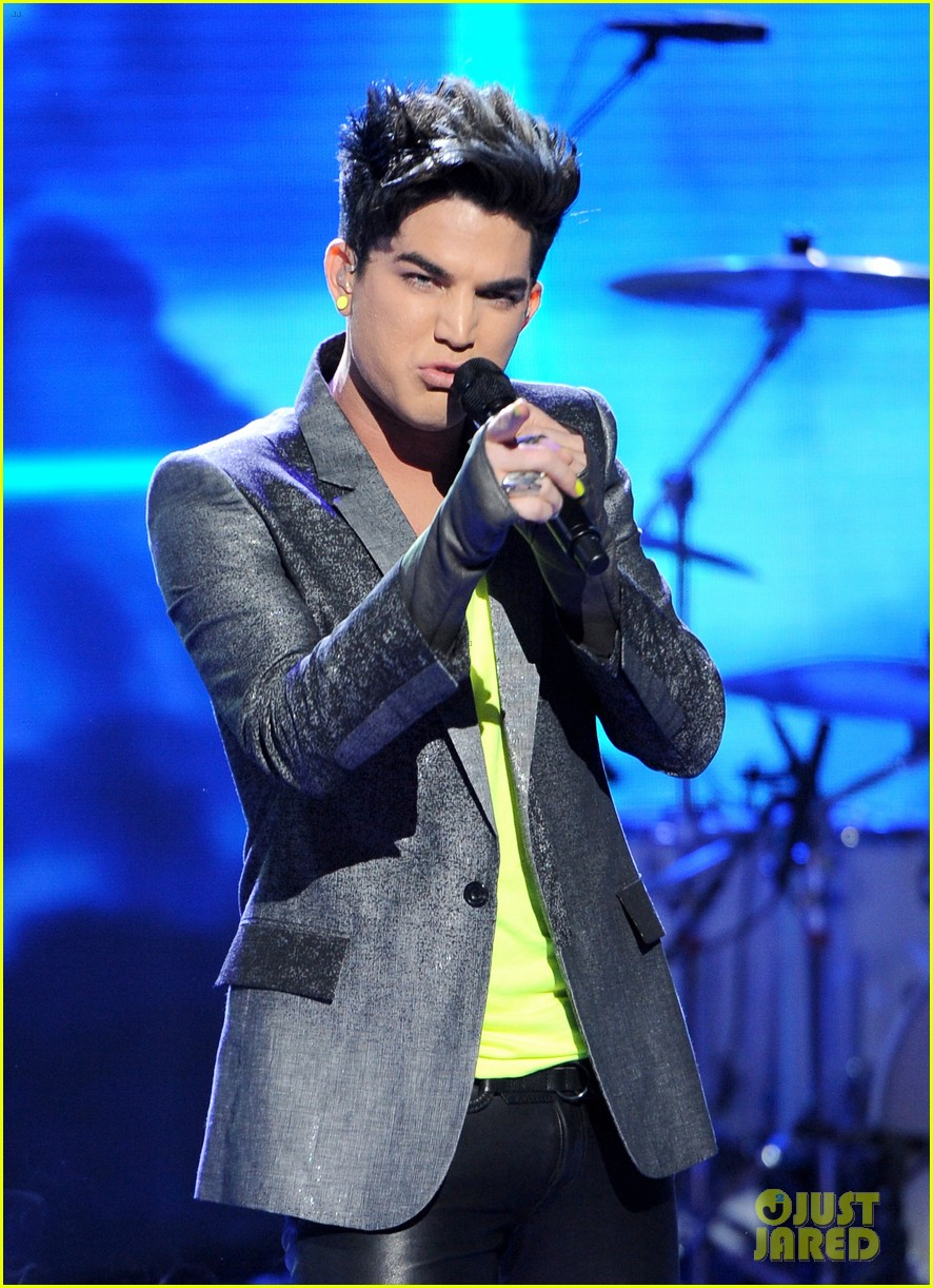 Adam Lambert Never Close Our Eyes On American Idol Photo