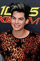 adam lambert leopard print shirt at fantabuloso concert 02
