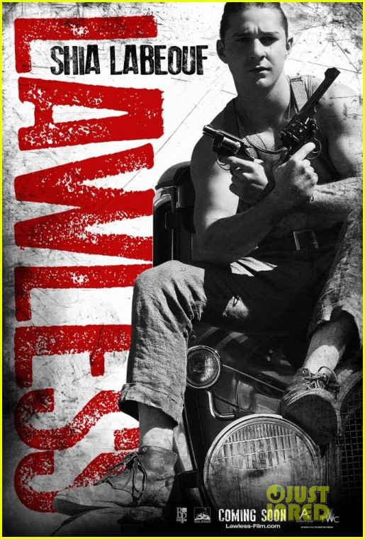 shia labeouf lawless character posters 032663837