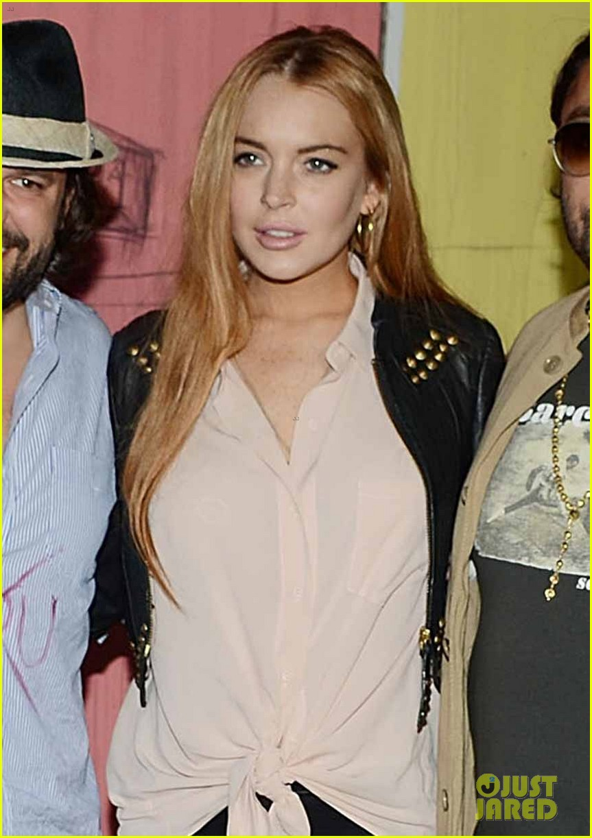 lindsay lohan life is a dream with vikram chatwal 062660385