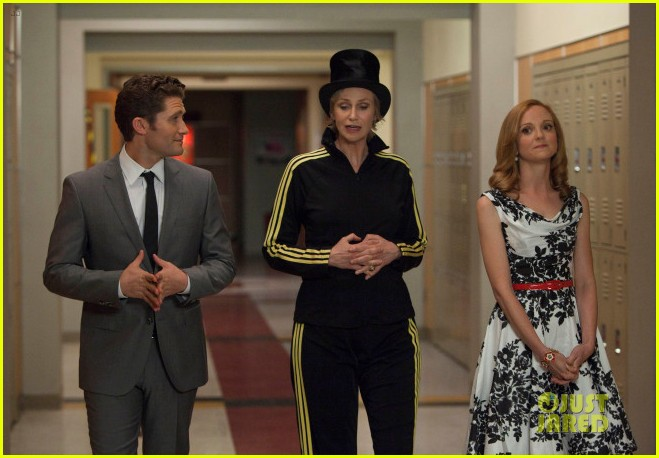 lindsay lohan on glee first look 182659277