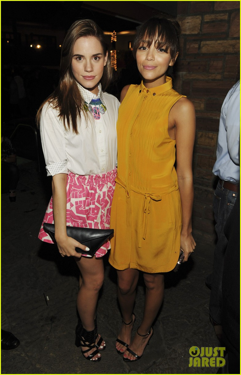 ashley madekwe christa b allen nylons young hollywood party 02