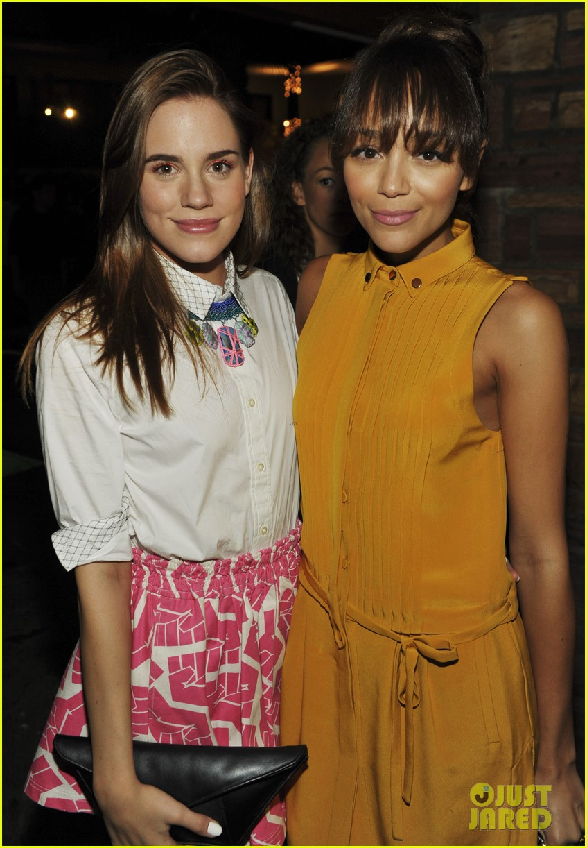 ashley madekwe christa b allen nylons young hollywood party 172660001