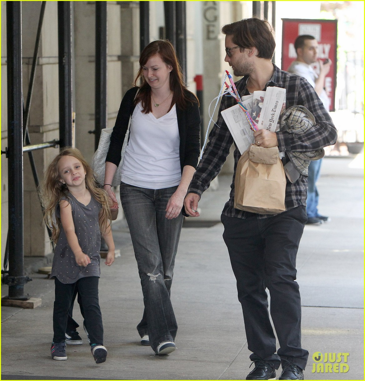 maguire family out for walk 102657299