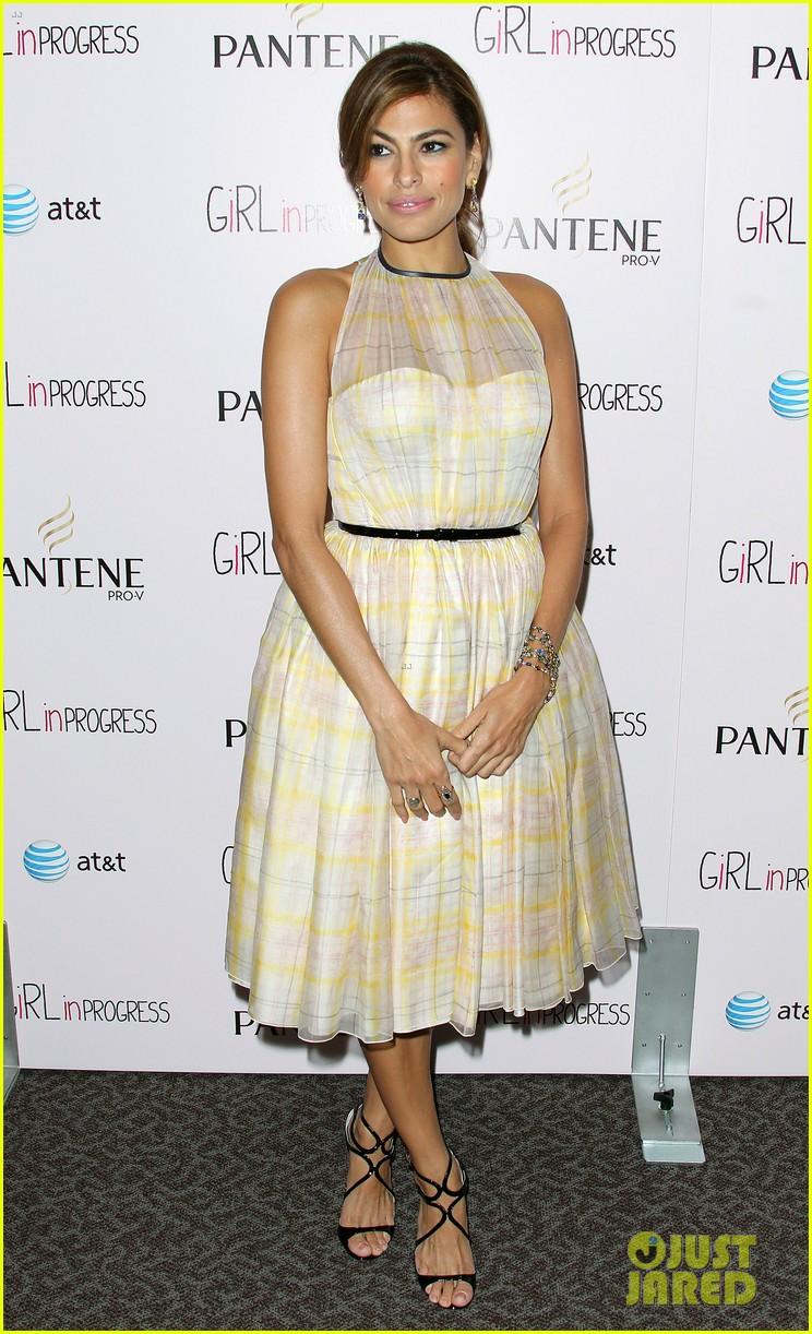 Eva Mendes Girl In Progress LA Screening Photo