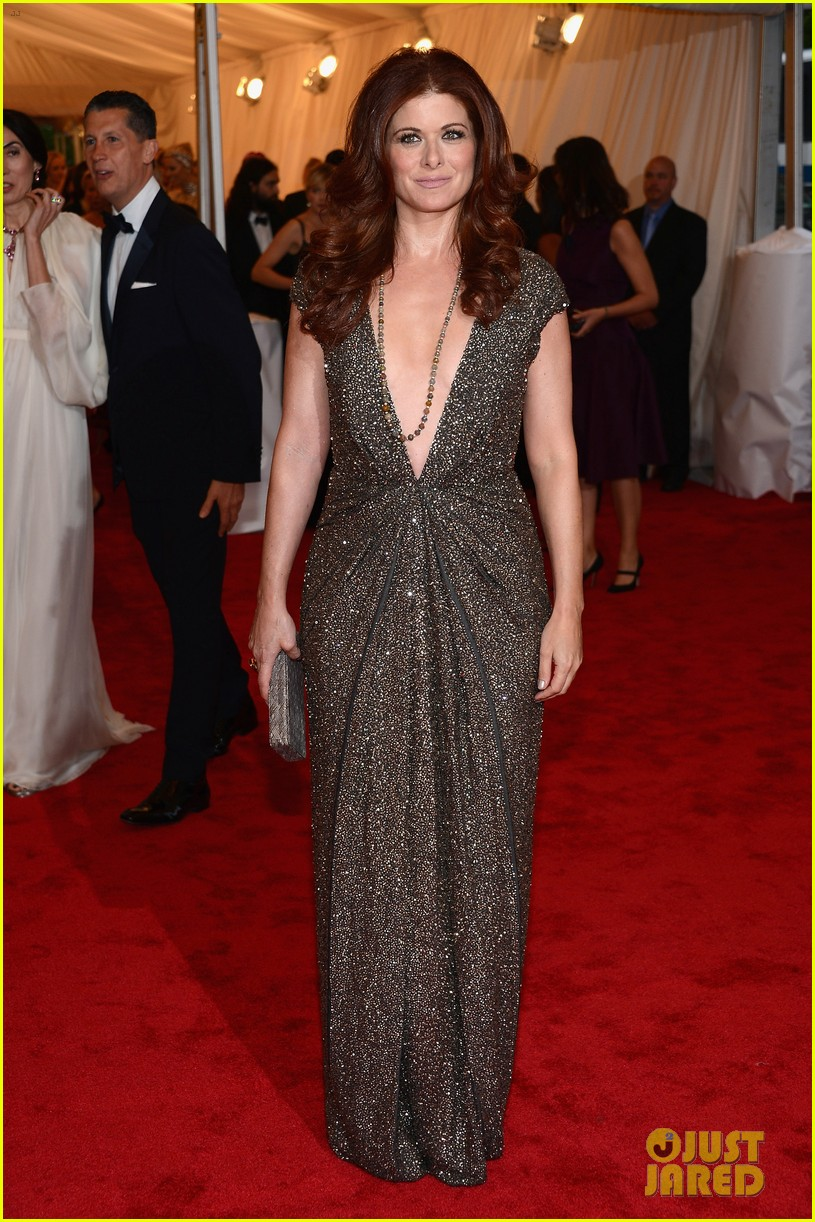 debra messing katharine mcphee met ball 2012 03