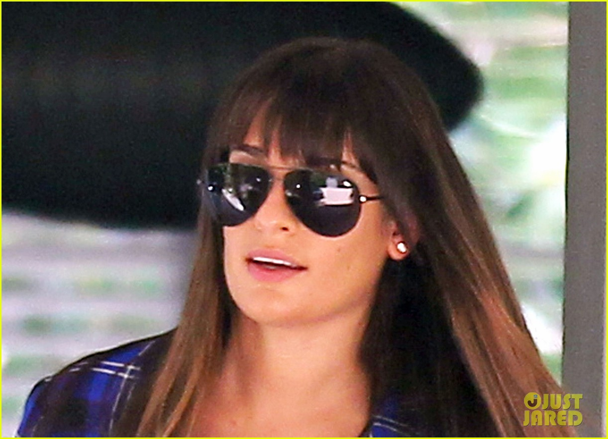 lea michele cory monteith new york bound for new york upfronts 152661254