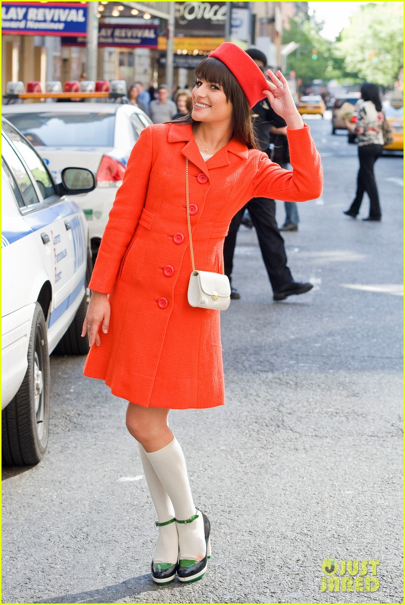 lea michele rachel berry broadway 08