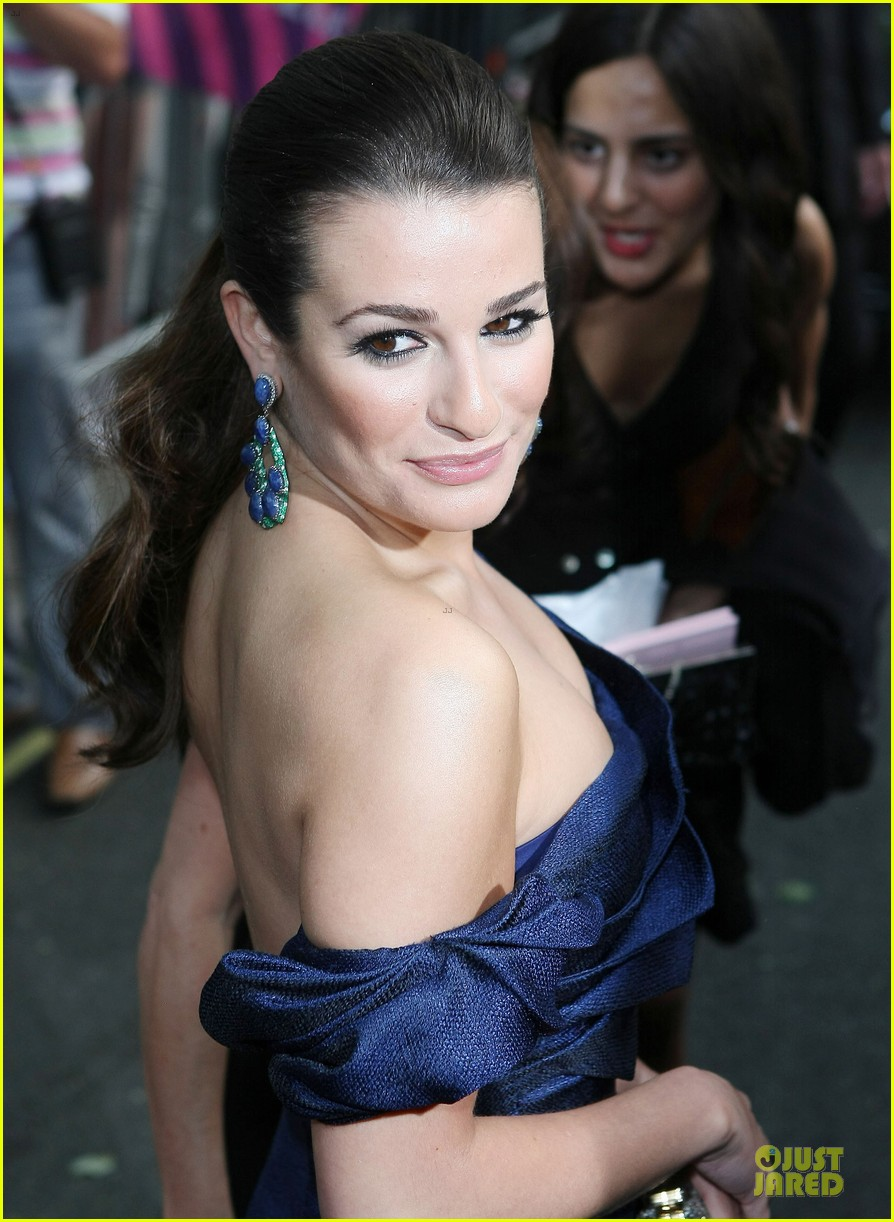 lea michele glamour awards 02