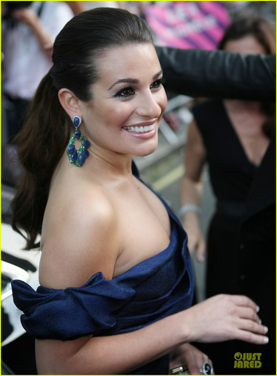 lea michele glamour awards 09