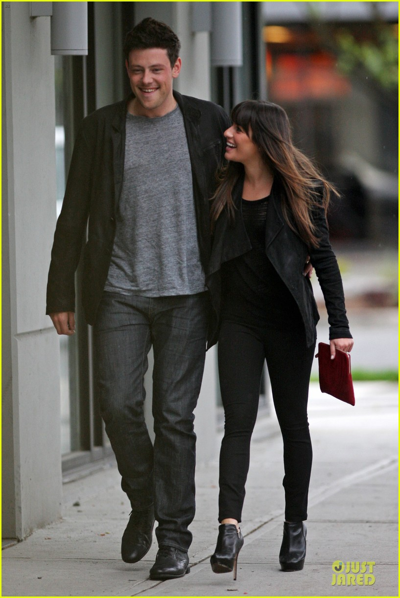 Lea Michele  Vancouver Visit with Cory Monteith  Photo 2668805 ... 638f1742d