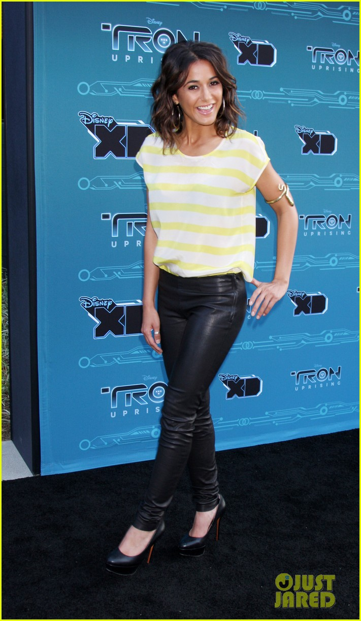 mandy moore tron uprising press event 092661479
