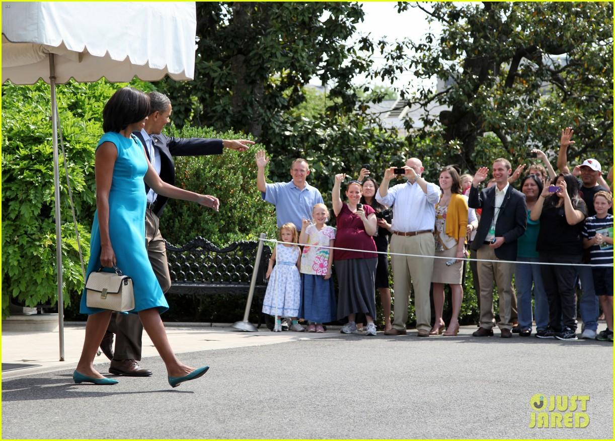 barack michelle obama white house arrival 052658181