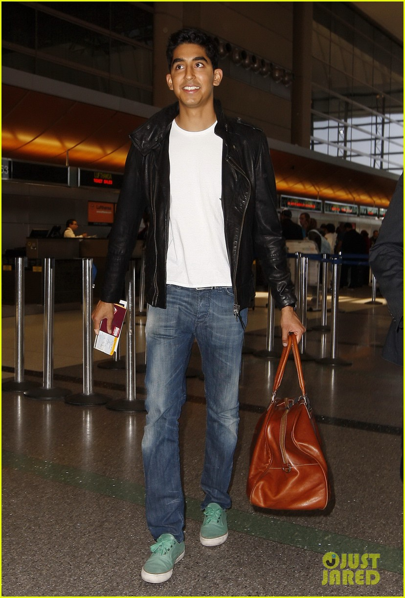 dev patel leaving lax 022667976