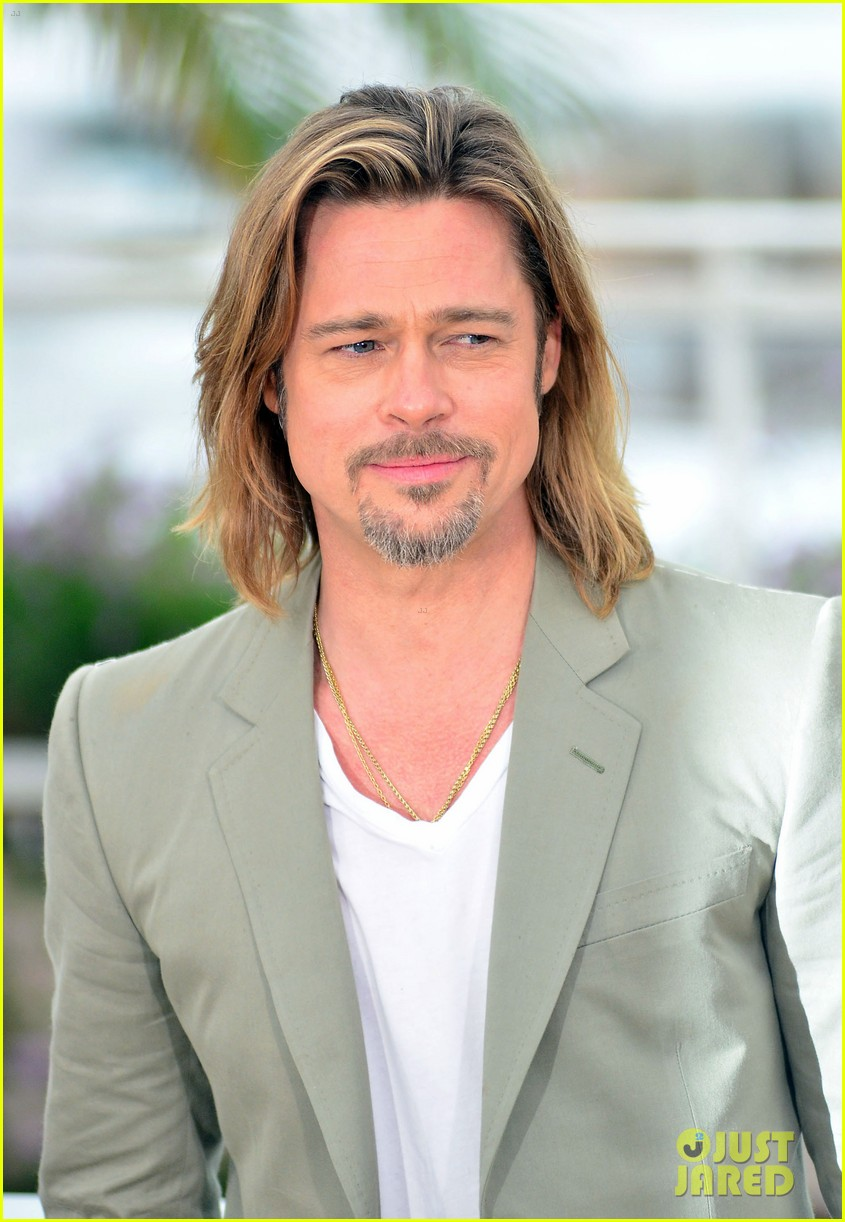 brad pitt cannes photocall 072665218