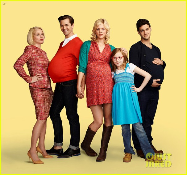 andrew rannells justin bartha baby bumps for new normal 022661211