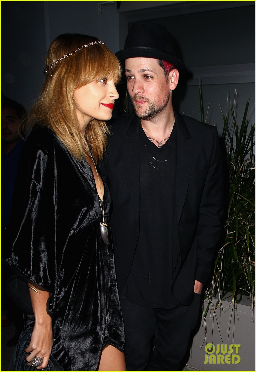 nicole richie joel madden the voice sydney launch party 08