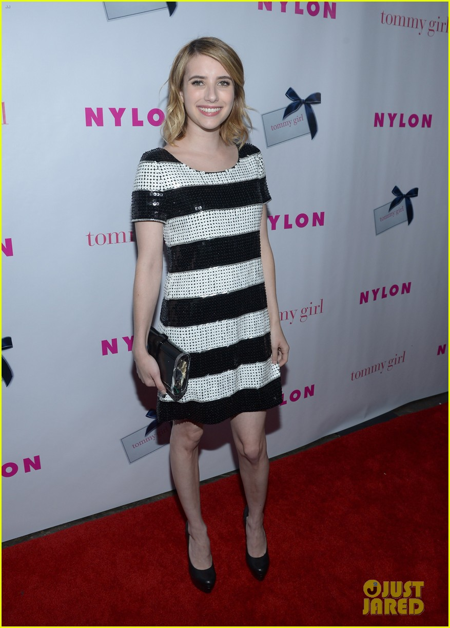 emma roberts chord overstreet nylons young hollywood party 022659969