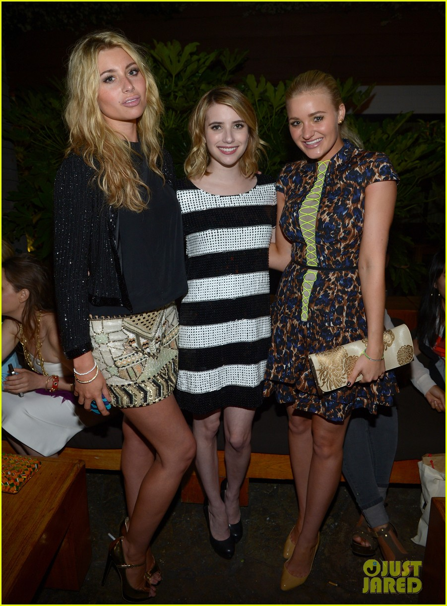 emma roberts chord overstreet nylons young hollywood party 032659970