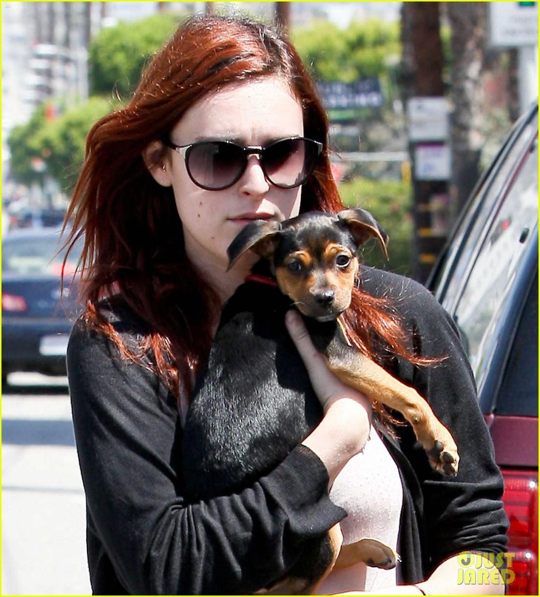 rumer willis new puppy 022659908