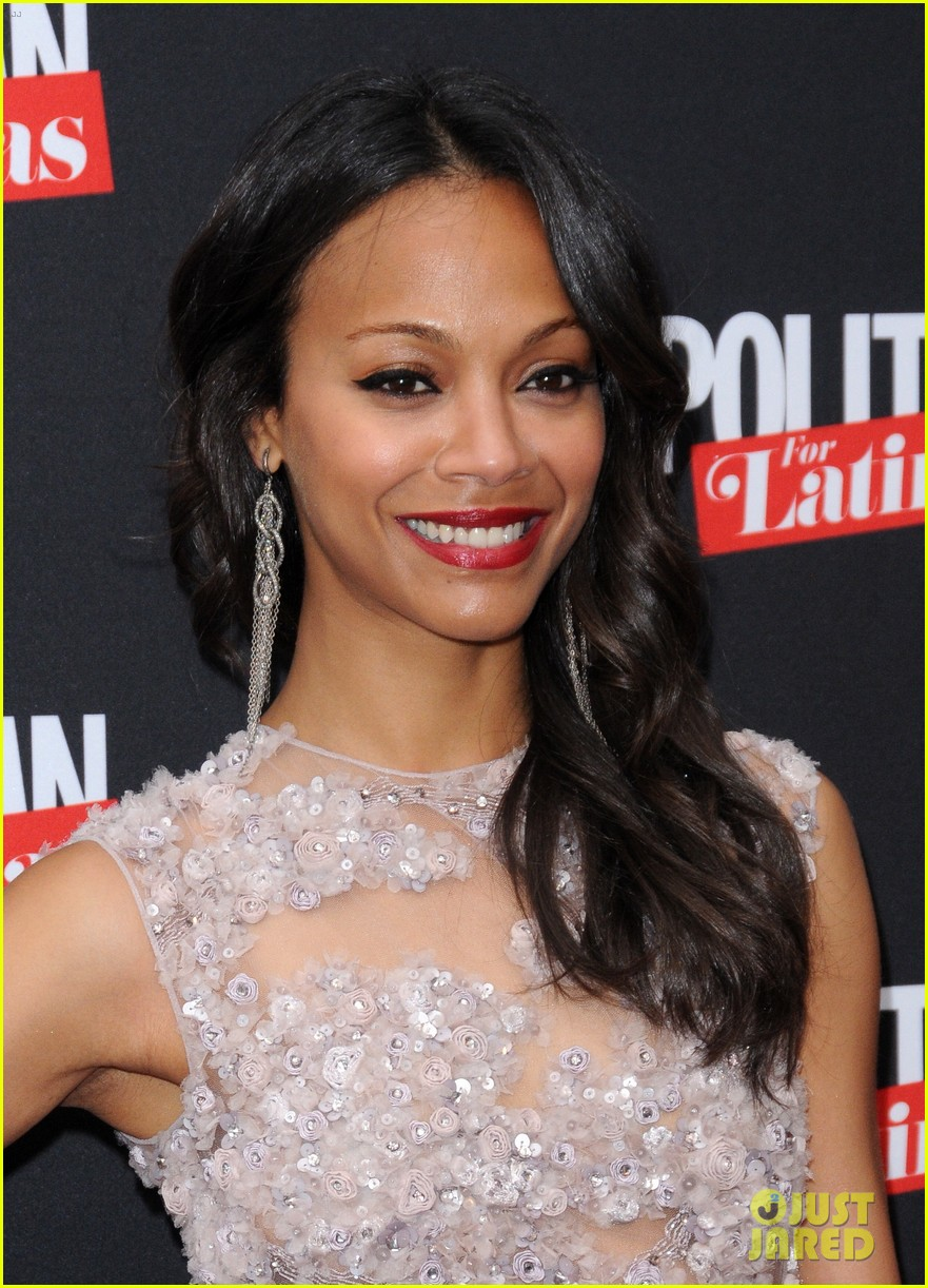 zoe saldana cosmopolitan for latinas premiere issue party 022660004