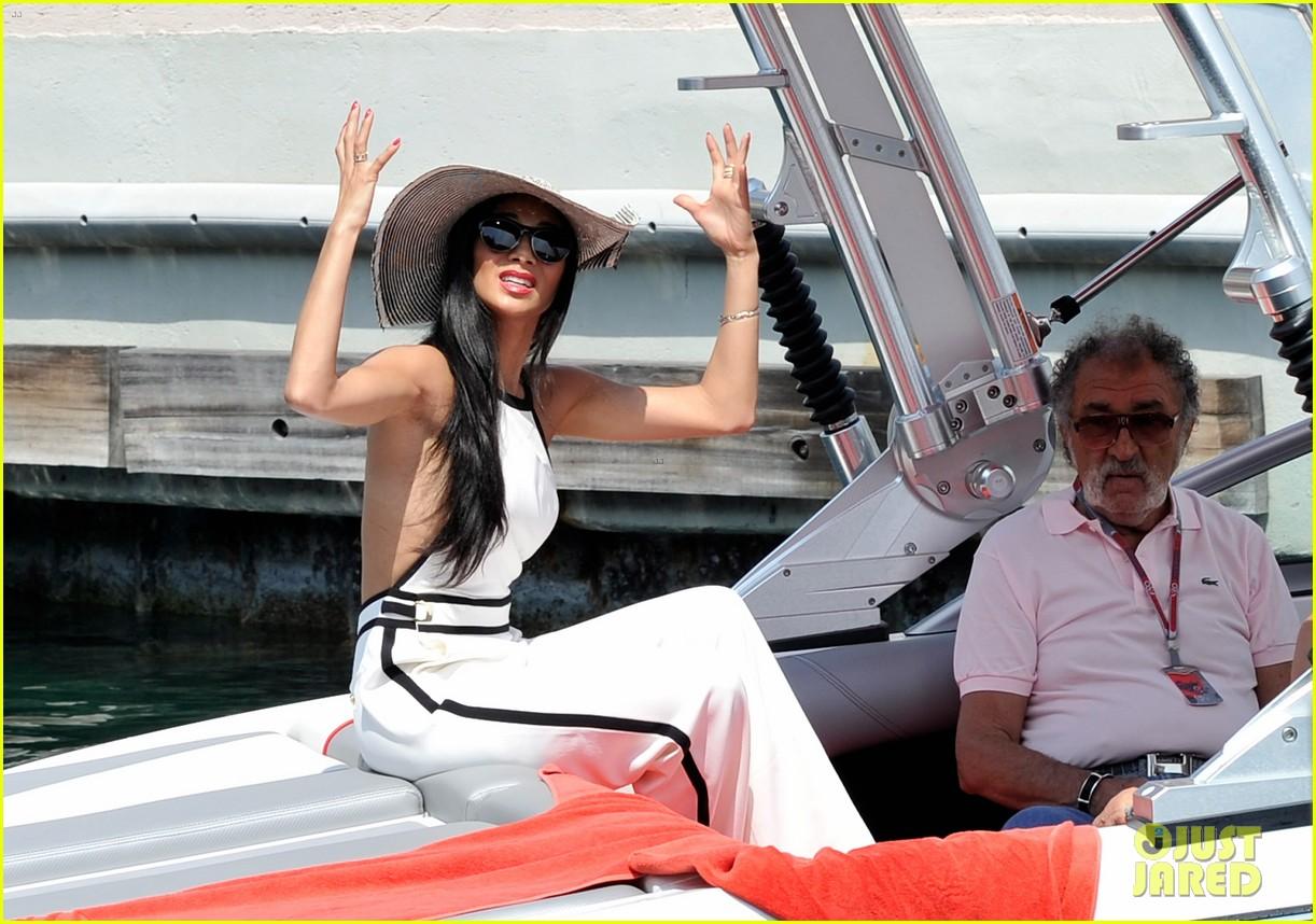scherzinger boat ride 152667449