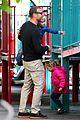 liev schreiber park with boys 16