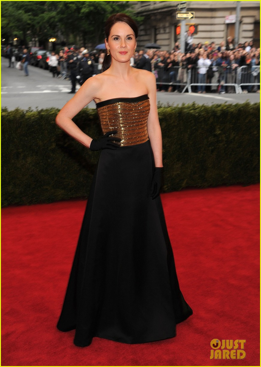 brooke shields michelle dockery met ball 2012 052658411