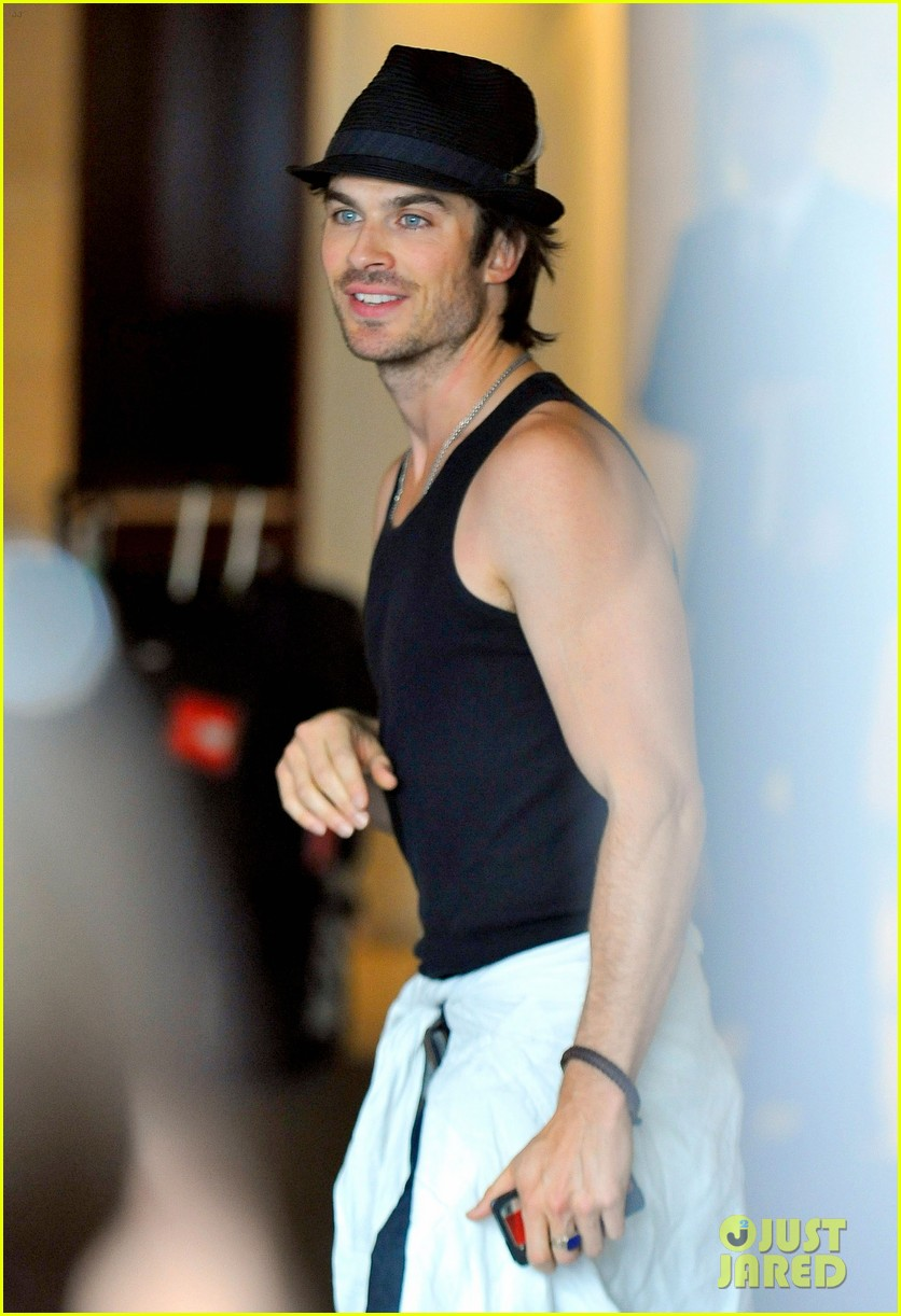 ian somerhalder leaves paris hotel 052667928