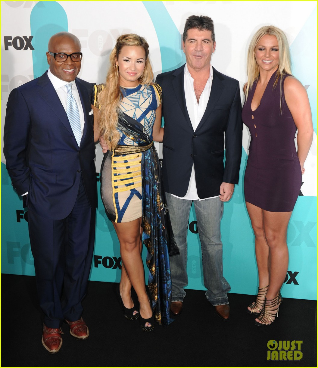 britney spears demi lovato fox upfronts 11