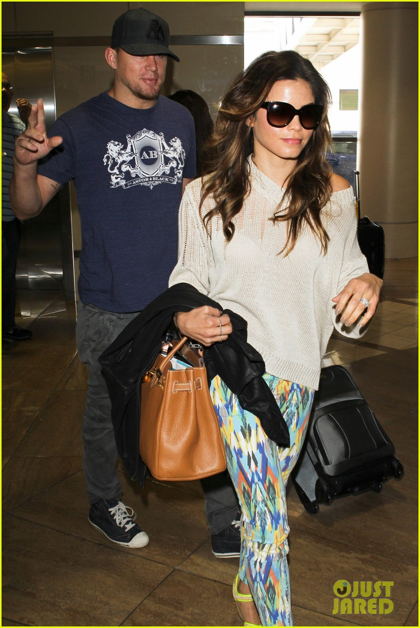 channing jenna leaving lax 082664631
