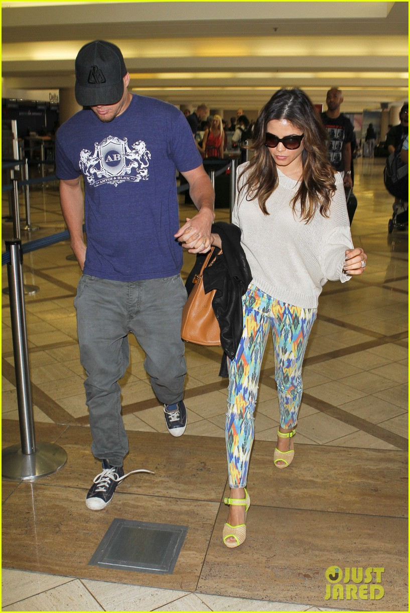 channing jenna leaving lax 12