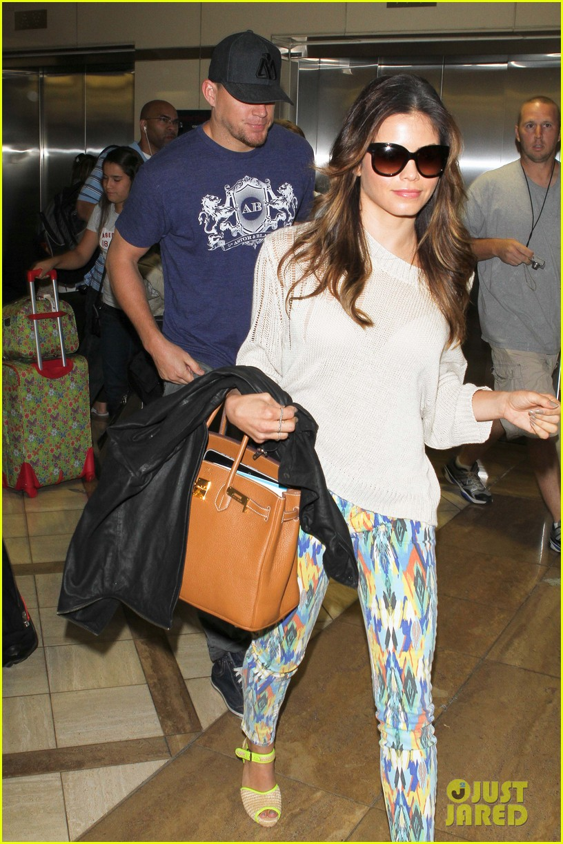 channing jenna leaving lax 132664636