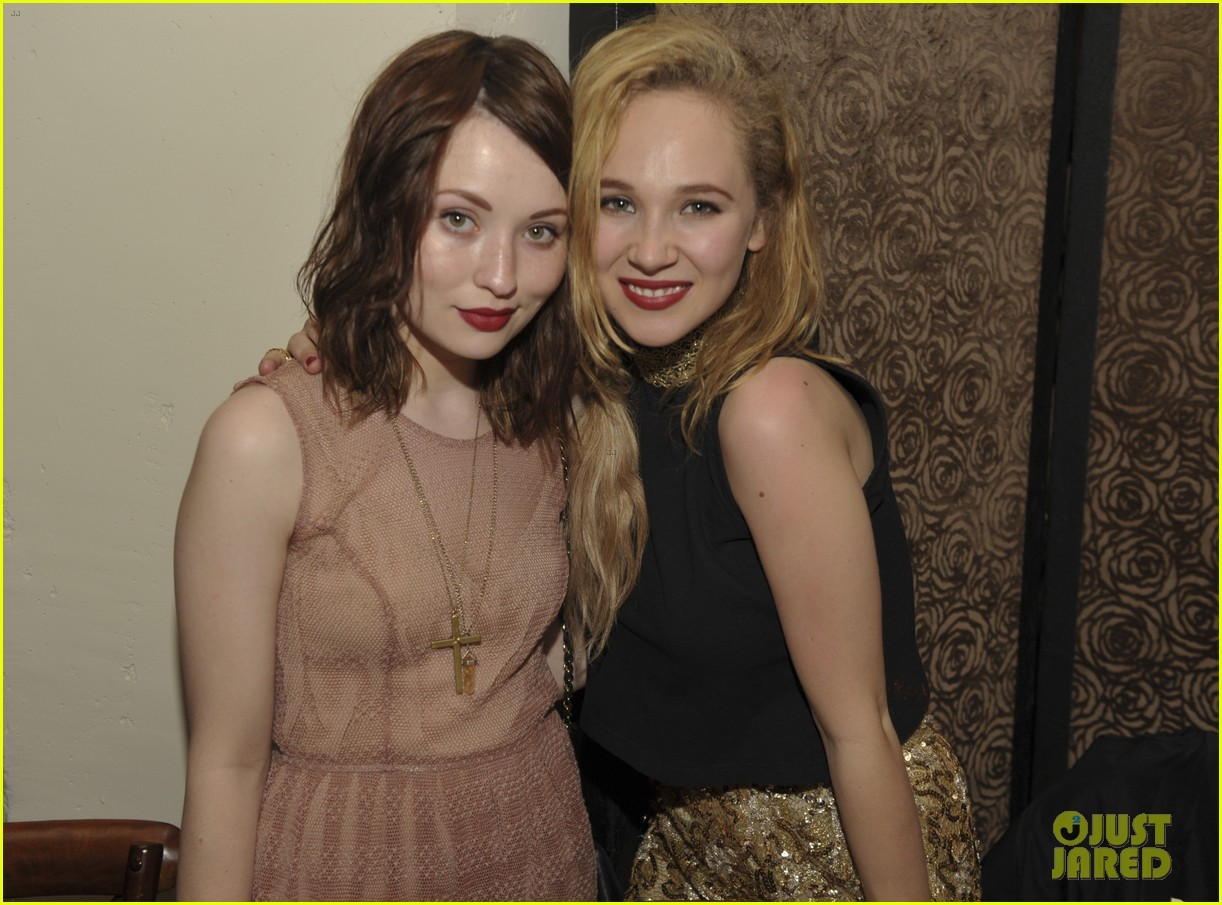 june temple emily browning nylons young hollywood party 012659950