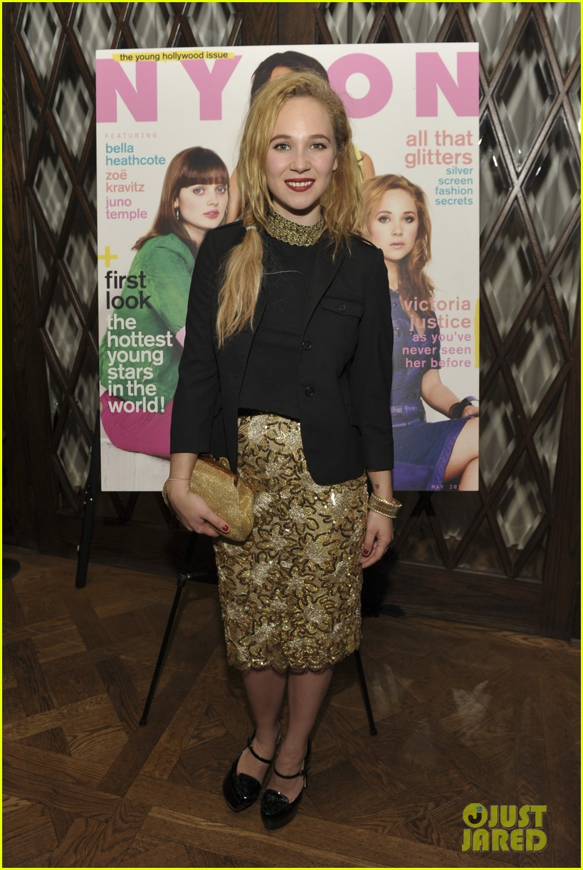june temple emily browning nylons young hollywood party 182659967