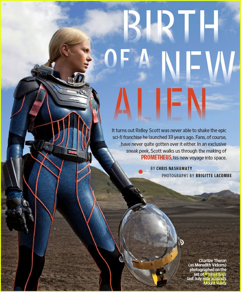charlize theron prometheus covers entertainment weekly 112660153