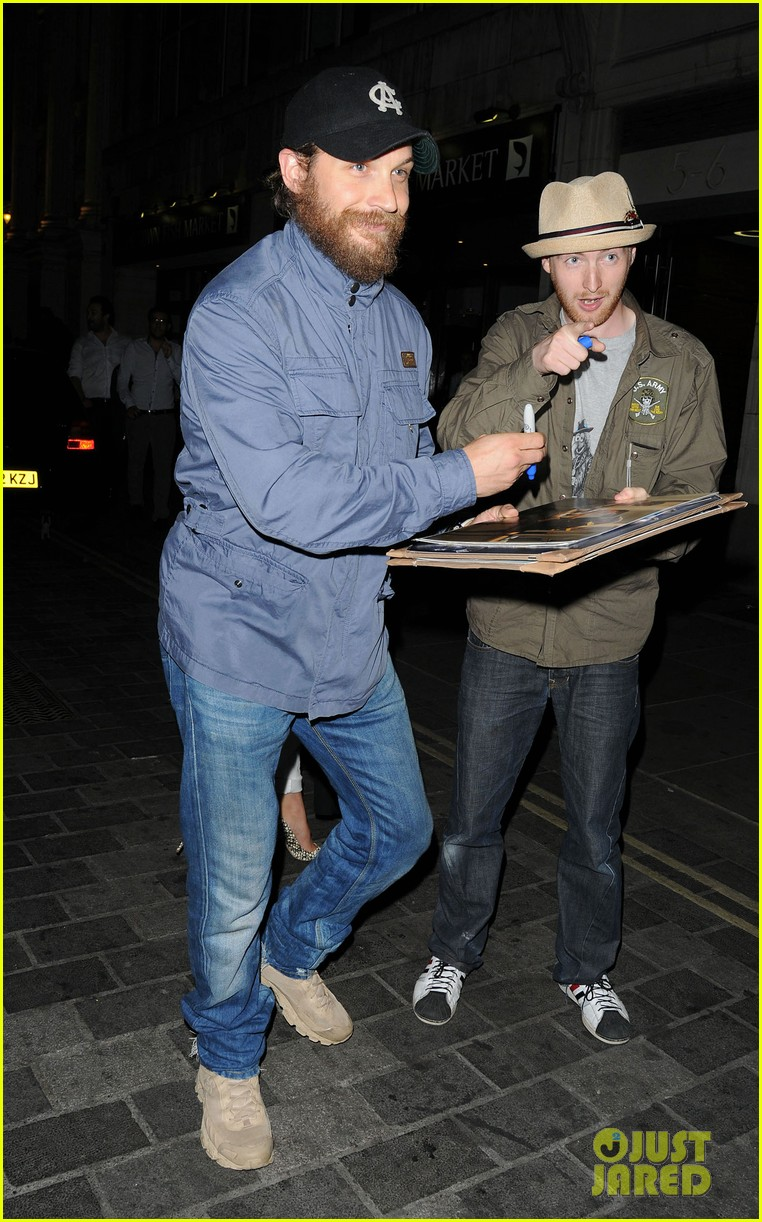 tom hardy prometheus afterparty 03