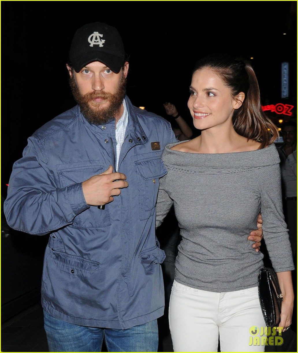 tom hardy prometheus afterparty 052668991