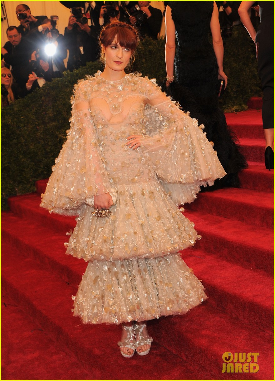 florence welch 2012 met ball 012658629