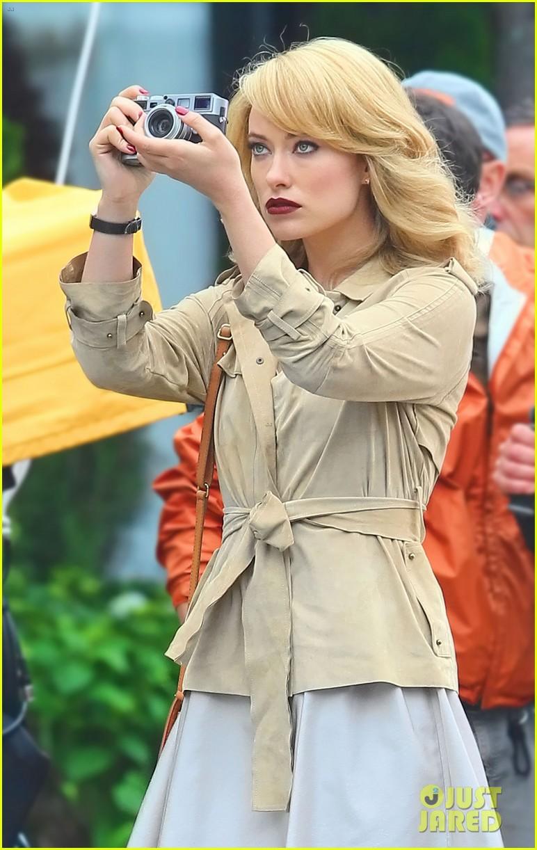 Olivia Wilde Revlon Commercial Shoot
